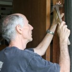 Fixing the kitchen door